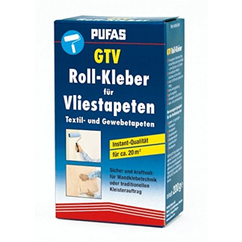 kleister gtv vlies kleber pufas f r vliestapeten 200g. Black Bedroom Furniture Sets. Home Design Ideas